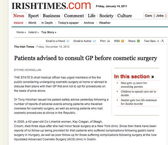 Rhinoplasty Dublin Ireland Nose Job Surgery Ent Surgeon